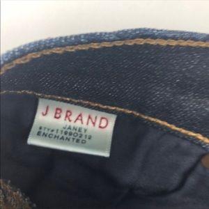 J Brand Jeans - J Brand Janey Skinny Bootcut Jeans Enchanted Wash